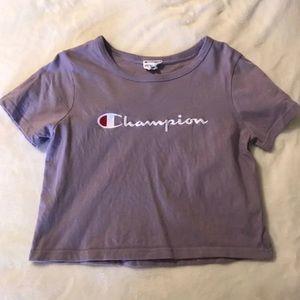 Zumiez Champion Cropped Shirt